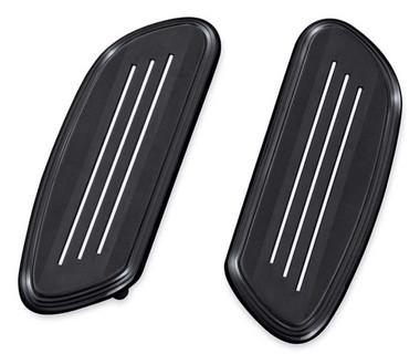 Harley-Davidson Streamliner Passenger Footboard Insert Kit - Black 50501796 - Wisconsin Harley-Davidson
