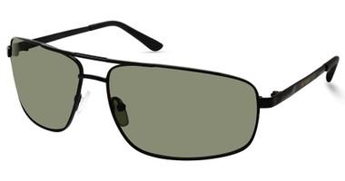 Harley-Davidson Men's Metal Navigator Sunglasses, Matte Black Frame/Green Lenses - Wisconsin Harley-Davidson