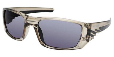 Harley-Davidson Men's Color Stripe Sunglasses, Gray Frame/Gradient Smoke Lenses - Wisconsin Harley-Davidson
