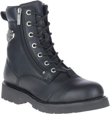 Harley-Davidson Men's Landry 6-Inch Black Motorcycle Boots, D93706 - Wisconsin Harley-Davidson