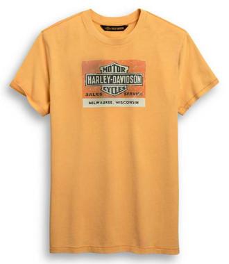 Harley-Davidson Men's Sale & Service Logo Short Sleeve T-Shirt 96428-20VM - Wisconsin Harley-Davidson