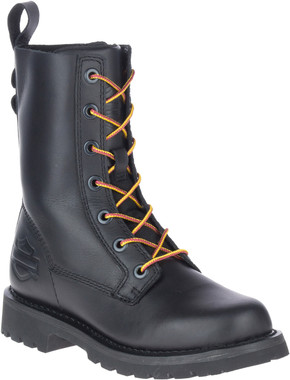 Harley-Davidson Women's Beason 7.25-Inch Motorcycle Lace-Up Boots, D84654 - Wisconsin Harley-Davidson