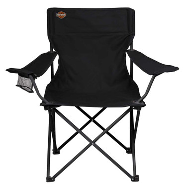 Harley-Davidson Bar & Shield Logo Compact Camping Chair, Quality by Picnic Time - Wisconsin Harley-Davidson