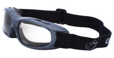 Guard-Dogs Unisex Evader 1 Changers FogStopper Day/Night Goggles - Carbon Fiber - Wisconsin Harley-Davidson