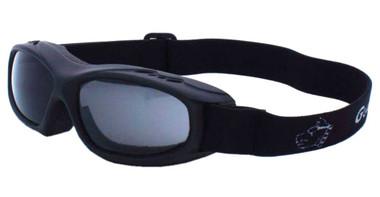 Guard-Dogs Unisex Evader 1 Matte Black FogStopper Goggles -Clear/Smoke 054-19-01 - Wisconsin Harley-Davidson