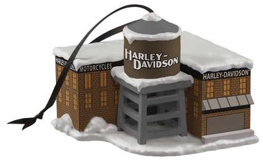 Harley-Davidson Custom Sculpted H-D Factory Polyresin Ornament HDX-99203 - Wisconsin Harley-Davidson