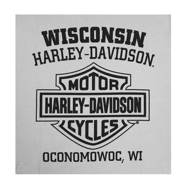Harley-Davidson Men's Gear Driven Willie G Skull Short Sleeve T-Shirt - Silver - Wisconsin Harley-Davidson