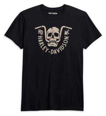 Harley-Davidson Men's Bar Bite Short Sleeve Cotton T-Shirt - Black 96045-21VM - Wisconsin Harley-Davidson