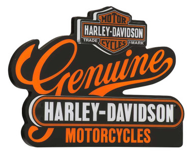 Harley-Davidson Genuine Motorcycles LED Custom Acrylic Pub Sign HDL-15411 - Wisconsin Harley-Davidson