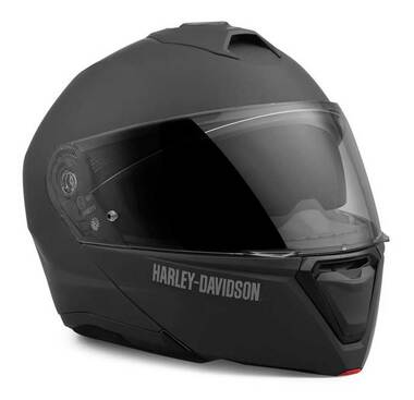 Harley-Davidson Men's Capstone Sun Shield Modular Helmet, Matte Black 98159-21VX - Wisconsin Harley-Davidson