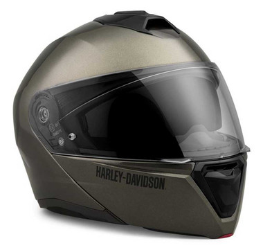Harley-Davidson Men's Capstone Sun Shield II H31 Modular Helmet, Gray 98121-21VX - Wisconsin Harley-Davidson