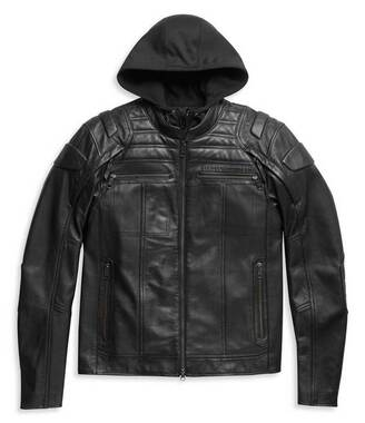 Harley-Davidson Men's Auroral II 3-IN-1 Midweight Leather Jacket 98003-21VM - Wisconsin Harley-Davidson