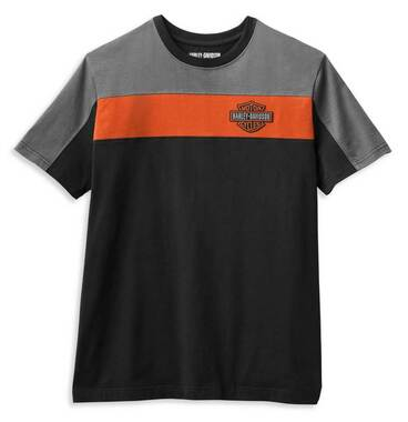 Harley-Davidson Men's Copperblock Logo B&S Short Sleeve T-Shirt 99064-21VM - Wisconsin Harley-Davidson
