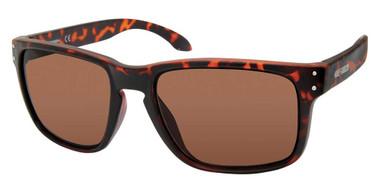 Harley-Davidson Men's Casual Square Frame Sunglasses, Havana Frame/Brown Lenses - Wisconsin Harley-Davidson