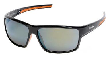 Harley-Davidson Men's Deep Sport Wrap Sunglasses, Black Frame/Bordeaux Lenses - Wisconsin Harley-Davidson