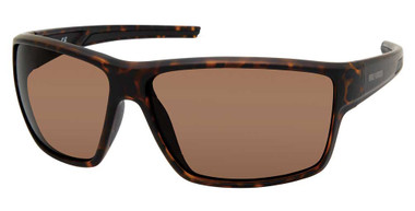 Harley-Davidson Men's Deep Sport Wrap Sunglasses, Havana Frames/Brown Lenses - Wisconsin Harley-Davidson