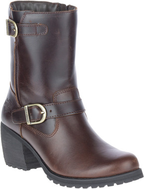 Harley-Davidson Women's Lalanne Brown Motorcycle Engineer Boots, D84689 - Wisconsin Harley-Davidson