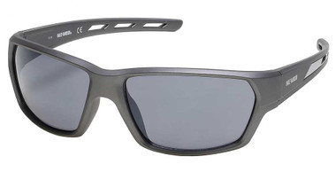 Harley-Davidson Men's Air Flow Venting Sunglasses, Gray Frame/Smoke Mirror Lens - Wisconsin Harley-Davidson