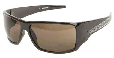 Harley-Davidson Men's Sport Wrap Sunglasses, Brown Frame/Brown Gradient Lenses - Wisconsin Harley-Davidson