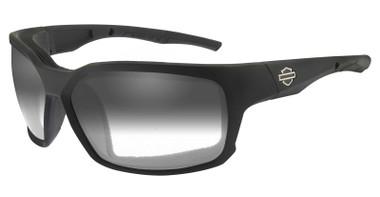 Harley-Davidson Men's COGS Sunglasses, Light Adjusting Smoke Lenses/Black Frames - Wisconsin Harley-Davidson