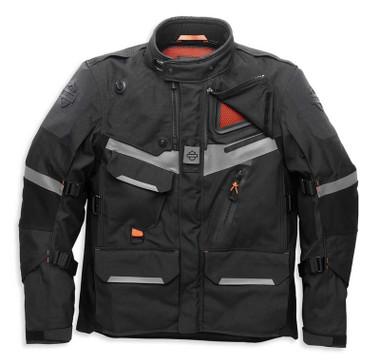 Harley-Davidson Men's Passage Adventure Functional Jacket, Black 98178-21VM - Wisconsin Harley-Davidson