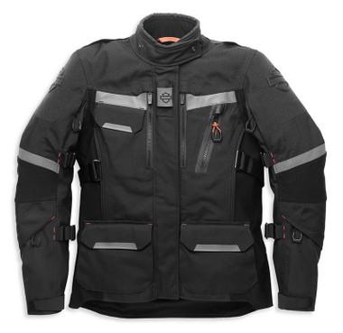 Harley-Davidson Women's Passage Adventure Functional Jacket, Black 98184-21VW - Wisconsin Harley-Davidson