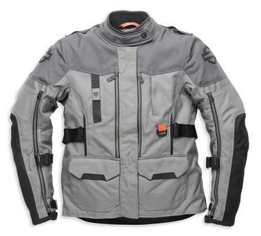 Harley-Davidson Women's Grit Adventure Functional Jacket, Gray 98185-21VW - Wisconsin Harley-Davidson