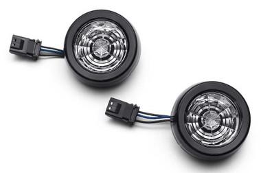 Harley-Davidson Rear Signature LED Turn Signal Inserts - Red Light 67801149 - Wisconsin Harley-Davidson
