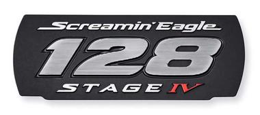 Harley-Davidson Screamin' Eagle 128 Stage IV Insert - Solid Black 25600127 - Wisconsin Harley-Davidson