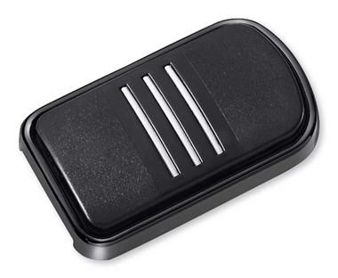 Harley-Davidson Streamliner Brake Pedal Pad, Multi-Fit item - Black  50600417 - Wisconsin Harley-Davidson