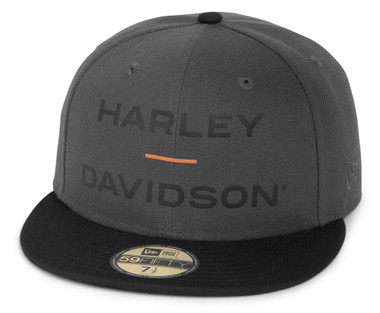 Harley-Davidson Men's Horizon Logo 59FIFTY Colorblocked Baseball Cap 97695-21VM - Wisconsin Harley-Davidson