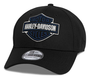 Harley-Davidson Men's Bar & Shield 39THIRTY Fitted Baseball Cap 97690-21VM - Wisconsin Harley-Davidson