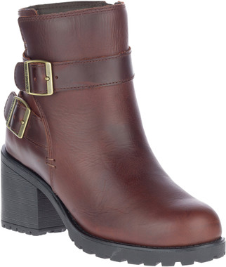 Harley-Davidson Women's LaLanne Double Strap Brown Motorcycle Boots, D84712 - Wisconsin Harley-Davidson