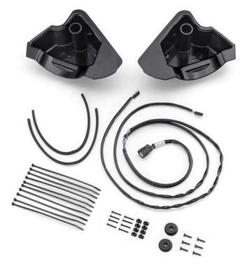Harley-Davidson Audio Powered Air-Cooled Lower Speaker Installation Kit 76000978 - Wisconsin Harley-Davidson