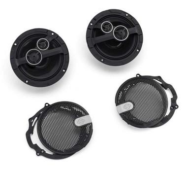 Harley-Davidson Audio Powered by Rockford Stage II Fairing Speakers 76000981 - Wisconsin Harley-Davidson