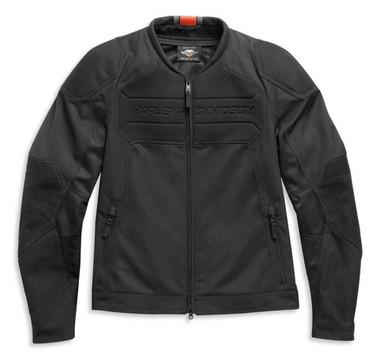 Harley-Davidson Men's HD Brawler Mixed Media Functional Jacket, Black 98103-21VM - Wisconsin Harley-Davidson