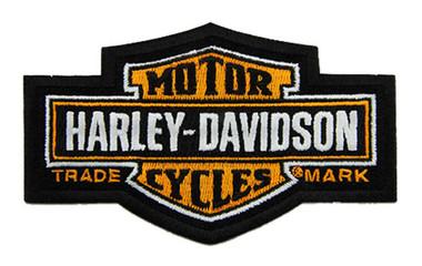 Harley-Davidson 4.5 in. Embroidered Trademark Bar & Shield Emblem Sew-On Patch - Wisconsin Harley-Davidson