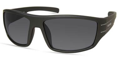 Harley-Davidson Men's Wide Temple Wrap Sunglasses, Gray Frame/Smoke Lenses - Wisconsin Harley-Davidson