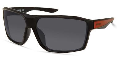 Harley-Davidson Men's Geometric Edge Sunglasses, Matte Black Frame/Smoke Lenses - Wisconsin Harley-Davidson