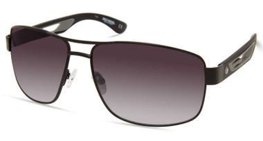 Harley-Davidson Men's Metal Navigator Sunglasses, Black Frame/Gradient Lenses - Wisconsin Harley-Davidson