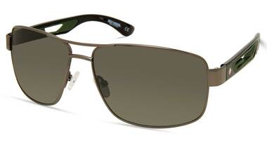 Harley-Davidson Men's Metal Navigator Sunglasses, Gunmetal Frame/Green Lenses - Wisconsin Harley-Davidson