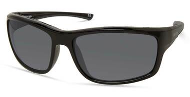 Harley-Davidson Men's Venting Wrap Sunglasses, Black Frame/Smoke Mirror Lenses - Wisconsin Harley-Davidson