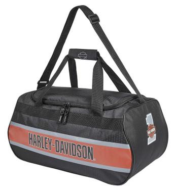 Harley-Davidson Trailblazer #1 Logo Duffel Bag w/Adjustable Strap - Rust Vintage - Wisconsin Harley-Davidson