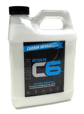 C6 Carbon Infused Automotive Paint Detailer Durable Protection & Shine Coating for all Vehicles from UV, Acid Rain, Road Salt and Scuffs - 64 oz. - Wisconsin Harley-Davidson
