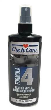 Cycle Care Formula 4 - Motorcycle & Automotive Leather, Vinyl & Rubber Conditioner Restore Spray Against UV Rays, Cracking, Water Repelling and Prolongs Life - 8 oz. - Wisconsin Harley-Davidson