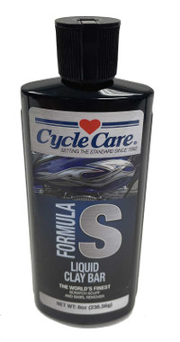 Cycle Care Formula S - Motorcycle Liquid Clay Bar Scratch, Scuff & Swirl Remover Repair Cleaner - 8 oz. - Wisconsin Harley-Davidson