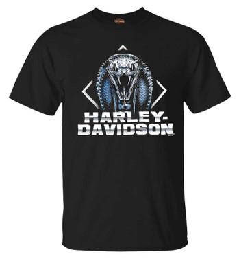 Harley-Davidson Men's Core Biker Short Sleeve Crew-Neck Graphic T-Shirt - Black - Wisconsin Harley-Davidson