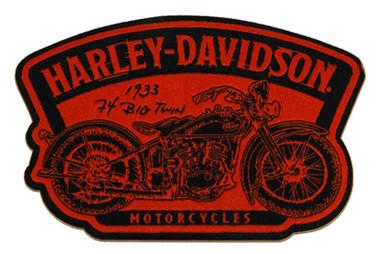Harley-Davidson 4.5 inch. Embroidered Timeline Motorcycle Emblem Sew-On Patch - Wisconsin Harley-Davidson