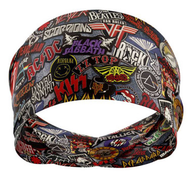 That's A Wrap Unisex Rock of Ages Versatile Multi-Function Do Band - Multi-Color - Wisconsin Harley-Davidson