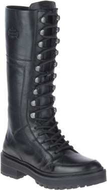 Harley-Davidson Women's Dalwood 12-Inch Black Motorcycle Boots, D84744 - Wisconsin Harley-Davidson